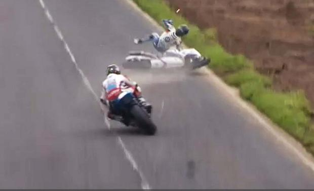 Guy Martin crash