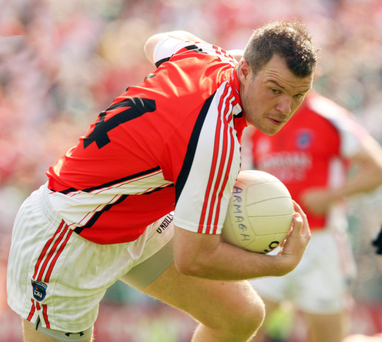 Ronan Clarke in action for Armagh