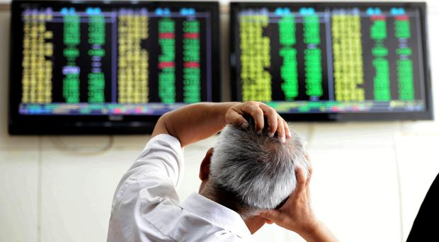The FTSE regained some of the value it lost in the 'great fall of China'