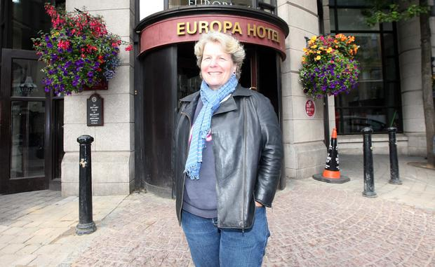 Sandi Toksvig in Belfast at the weekend