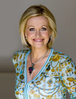 Belfast-born author Cathy Kelly