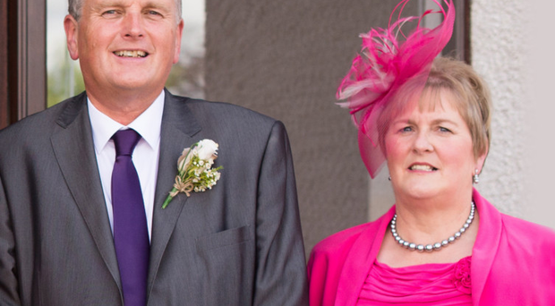 Jim Wells and his wife Grace in 2014