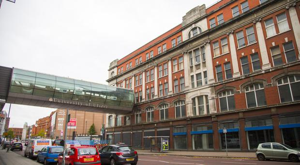 The Orpheus building on York Street, Belfast, is about to be razed to the ground