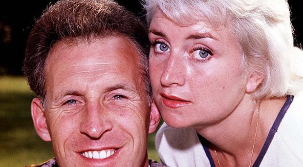 Bruce Forsyth and first wife Penny in 1961