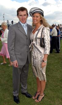 Racing legend AP McCoy with his wife Chanelle