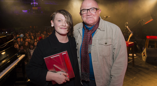 Soak and Stuart Bailie, CEO of Oh Yeah Music Centre