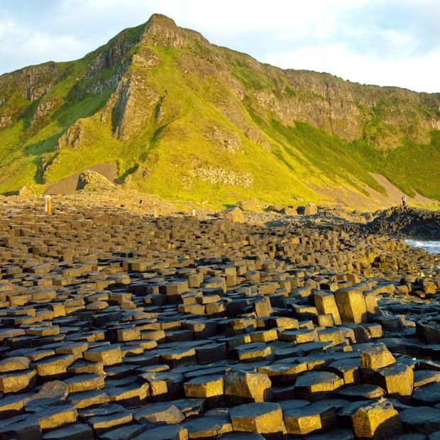 The Giant's Causeway has been voted top heritage attraction
