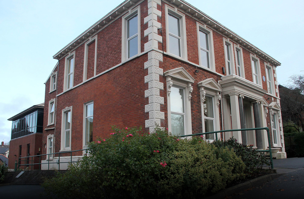 Thomas Andrews' old home on Windsor Avenue, now the HQ of the IFA