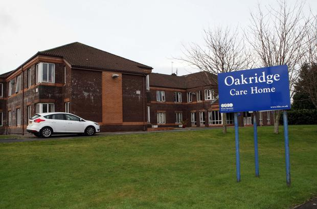 Oakridge Care Home is being sold as a going concern