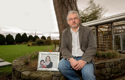Sharon Whelan's brother John at his home near Paulstown, Co Kilkenny
