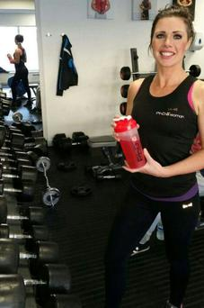 Michelle Daly is a personal trainer