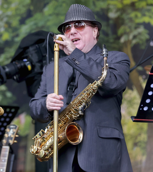Van Morrison playing Cyprus Avenue last year