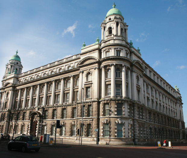 The former Belfast Metropolitan college building