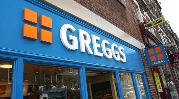 Signs have now been put up at the Applegreen located on the M1 just outside Lisburn, advertising a Greggs shop