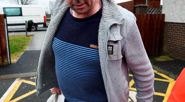 Seamus Daly walks free from Maghaberry Prison after charges against him were dropped