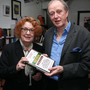 Ruth Dudley Edwards at her book launch in Belfast with Dr Liam Kennedy