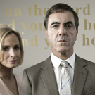Genevieve O'Reilly and James Nesbitt in ITV's The Secret