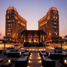 The St Regis Doha hotel where Chief Constable George Hamilton stayed
