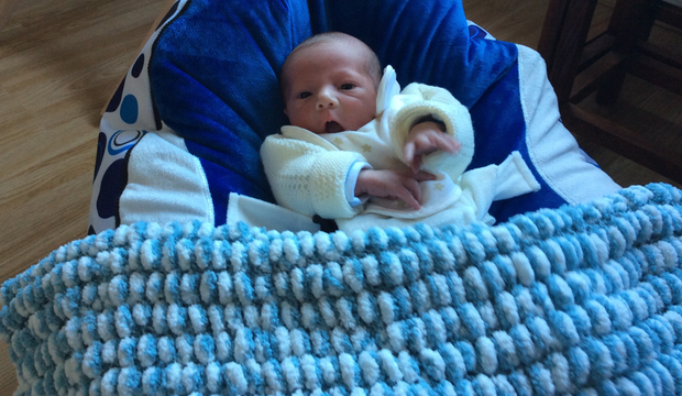 David Samuel, the son of councillor Tommy Jeffers, was born last Saturday