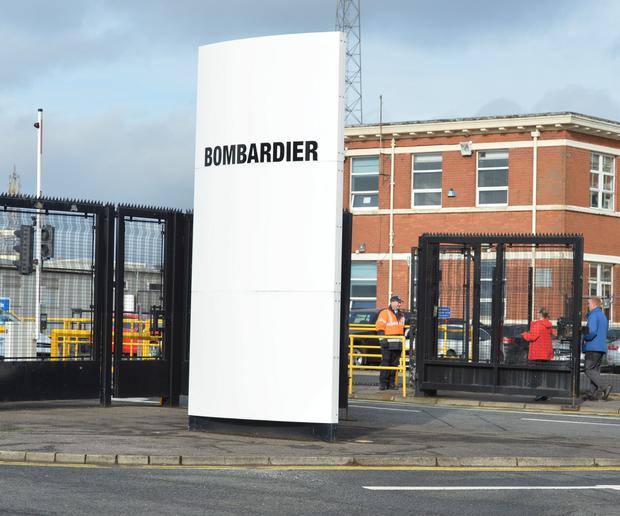 Bombardier in east Belfast