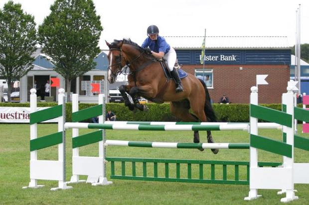 Showjumping has proved popular down the years at the show