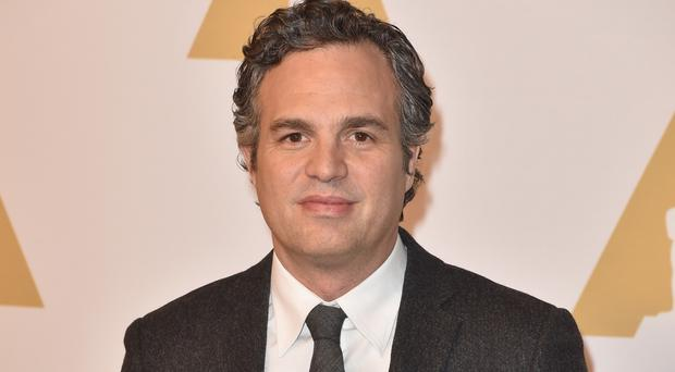 Support: human rights activist Mark Ruffalo