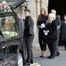 The funeral of Anita Rooney took place yesterday