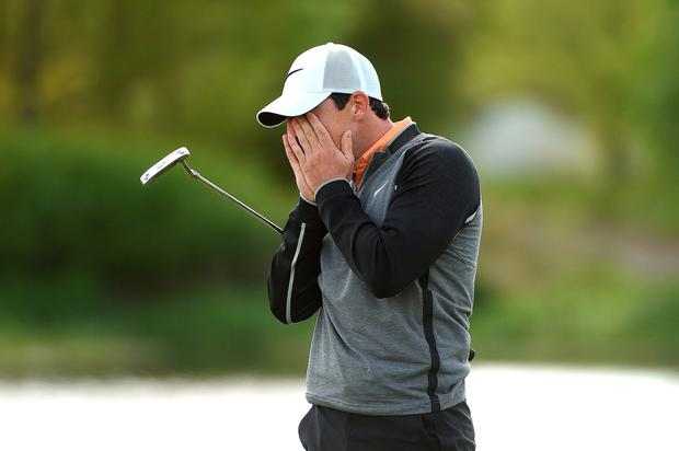 Rory McIlroy goes through a range of emotions during his win yesterday