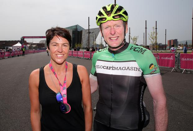 Emma McWilliams and Peter Morrison