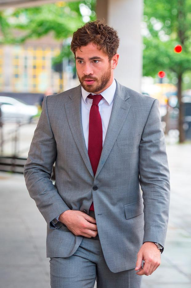 Danny Cipriani arrives for a court appearance