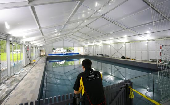 The restored Ormiston Pool will be used to help young people enjoy kayaking
