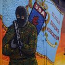 A UDA recruitment mural in Carrickfergus.