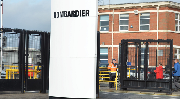 Bombardier chief executive Alain Bellemare: