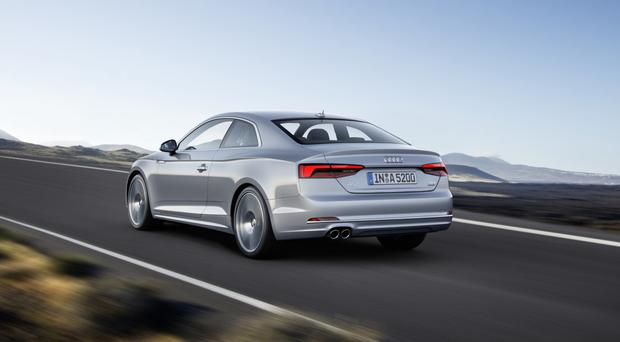 audi a5: at last a coupé you can live with - belfasttelegraph.co.uk