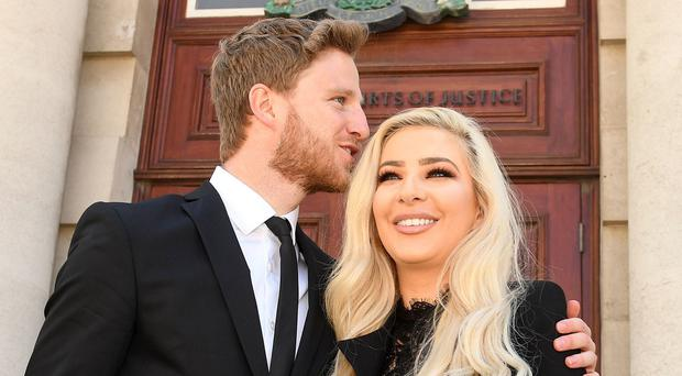 Eunan O'Kane and Laura Lacole went to court over their wedding ceremony