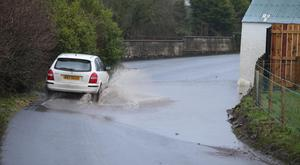 Heavy rain brings chaos to Northern Ireland
