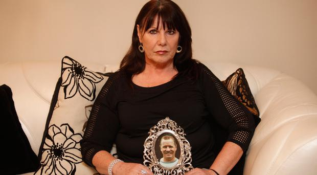 Kate Carroll, widow of murdered police officer Stephen Carroll