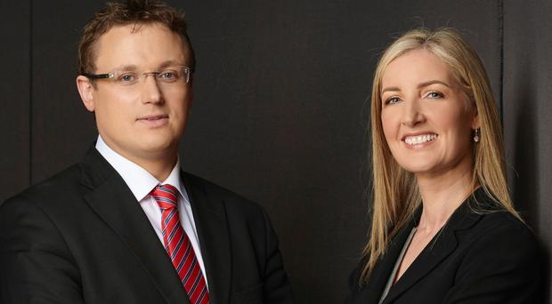 Tracey Schofield and Mark Blair of A&L Goodbody