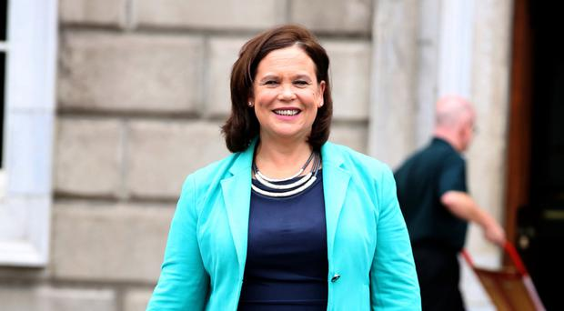 Mary Lou McDonald nominated to replace Gerry Adams as Sinn Fein leader