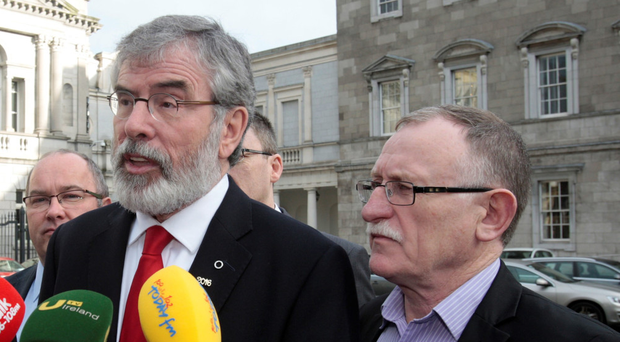 Sinn Fein Deputy Leader McDonald To Replace Gerry Adams As President