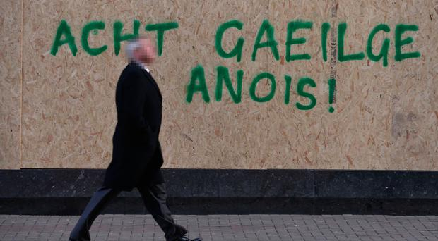 Demands for an Irish Language Act have proved divisive in restoring Stormont