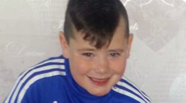 Family pictures of Carter Carson who died while on holiday in Tenerife