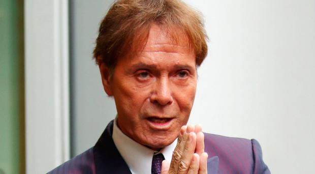 Sir Cliff Richard arrives in London to give evidence in a legal battle with the BBC
