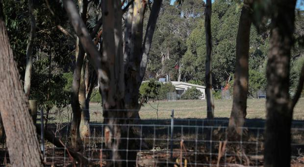 A property in Margaret River where police are investigating the deaths of seven people