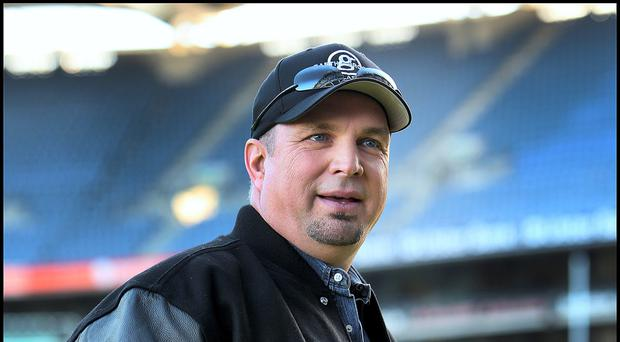 Cancelled: Garth Brooks standing in Croke Park back in 2014