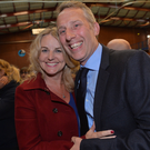 Ian Paisley with his wife Fiona