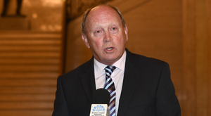 Angry: Jim Allister