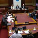 The RHI inquiry, chaired by Sir Patrick Coghlin, hears evidence