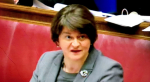 Arlene Foster at RHI Inquiry earlier this year
