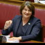 Arlene Foster at the RHI Inquiry yesterday